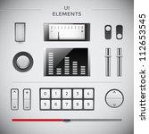 gui web design elements. user... | Shutterstock .eps vector #112653545
