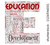 vector conceptual education ... | Shutterstock .eps vector #1126546031