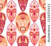 vector illustration. african... | Shutterstock .eps vector #1126551611