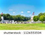 washington  dc  usa   september ... | Shutterstock . vector #1126553534