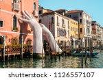 venice  italy   february 17 ... | Shutterstock . vector #1126557107