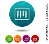 barcode icon. price scan symbol ...