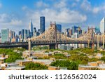 new york  queensborough bridge  ... | Shutterstock . vector #1126562024