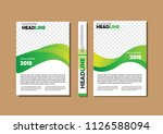 design cover book brochure... | Shutterstock .eps vector #1126588094