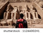 aswan  egypt  4th july 2018  a... | Shutterstock . vector #1126600241