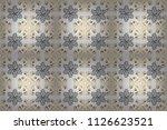wallpaper baroque  damask.... | Shutterstock . vector #1126623521
