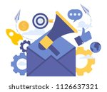 vector creative illustration of ... | Shutterstock .eps vector #1126637321