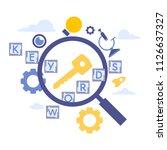 vector creative illustration of ... | Shutterstock .eps vector #1126637327