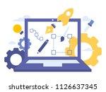 vector creative illustration of ... | Shutterstock .eps vector #1126637345