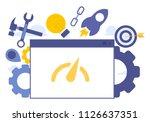 vector creative illustration of ... | Shutterstock .eps vector #1126637351
