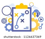 vector creative illustration of ... | Shutterstock .eps vector #1126637369