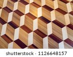 vintage parquet from natural... | Shutterstock . vector #1126648157