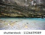 mountain river in abkhazia ... | Shutterstock . vector #1126659089