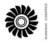 vector fan engine illustration...   Shutterstock .eps vector #1126659215