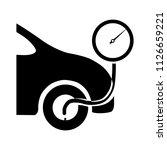 vector fill tire air... | Shutterstock .eps vector #1126659221