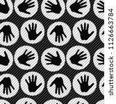 hand   circle  line  scratch ...   Shutterstock .eps vector #1126663784
