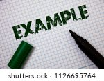 word writing text example.... | Shutterstock . vector #1126695764