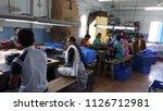 hardworking people in the... | Shutterstock . vector #1126712981
