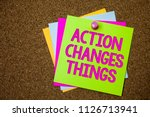 text sign showing action... | Shutterstock . vector #1126713941