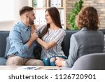 psychologist working with...   Shutterstock . vector #1126720901