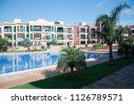 palma de mallorca  spain  ... | Shutterstock . vector #1126789571
