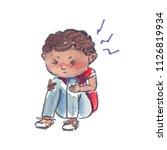 Sick Child  Small Stressed...