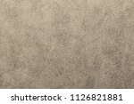 gold or light bronze leather... | Shutterstock . vector #1126821881