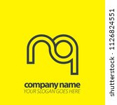 initial letter design logo | Shutterstock .eps vector #1126824551