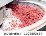 cutter for grinding meat.... | Shutterstock . vector #1126853684