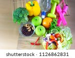 healthy eating of ketogenic... | Shutterstock . vector #1126862831