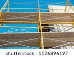 perspective view of yellow... | Shutterstock . vector #1126896197
