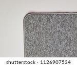 gray carpet background | Shutterstock . vector #1126907534