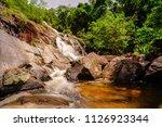 namtok tone nga chang or the... | Shutterstock . vector #1126923344