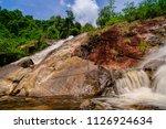 namtok tone nga chang or the... | Shutterstock . vector #1126924634
