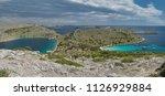 panoramic view of kornati... | Shutterstock . vector #1126929884