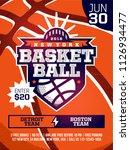 modern professional sports... | Shutterstock .eps vector #1126934477