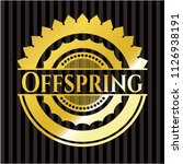 offspring gold emblem or badge   Shutterstock .eps vector #1126938191