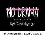 no drama text   vector...   Shutterstock .eps vector #1126941311