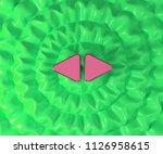 left right mark icon on...   Shutterstock . vector #1126958615