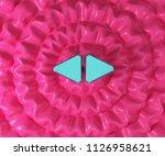 left right mark icon on...   Shutterstock . vector #1126958621