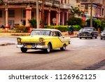 havana   february 12  classic... | Shutterstock . vector #1126962125