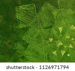 abstract painting on canvas.... | Shutterstock . vector #1126971794