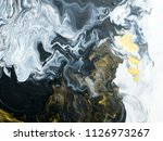 black and white with gold... | Shutterstock . vector #1126973267