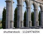 ingushetia  magas  27 june 2018 ...   Shutterstock . vector #1126976054