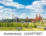 zaryadye park overlooking the... | Shutterstock . vector #1126977857