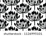 seamless vector pattern made of ... | Shutterstock .eps vector #1126995101