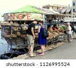 chania  crete. greece  october...   Shutterstock . vector #1126995524