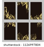 collection of vector template... | Shutterstock .eps vector #1126997804