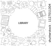 vector library and online... | Shutterstock .eps vector #1127011304