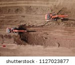 aerial drone image  top view ...   Shutterstock . vector #1127023877